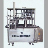 AUTOMATIC CUP RINSING & FILLING MACHINE