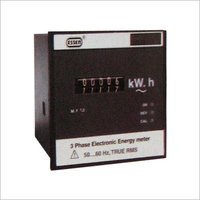 3 Phase Electronic Energy Meter