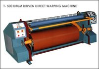 DRUM DRIVEN DIRECT WARPING MACHINE