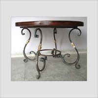 Wrought Iron + Brass Tabla