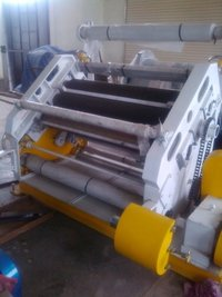 SINGLE FACER OBLIQUE CORRUGATION MACHINE