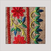 Traditional Kutch Embroidery Design