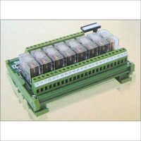 Din Rail Mounted Relay Interface Module