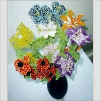 Artificial Glass Beaded Flowers