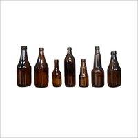 Fancy Amber Bottle