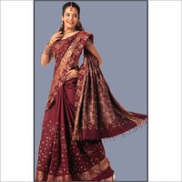 Embroidered Fancy Pallu Saree