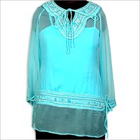 Baby Blue Tunic