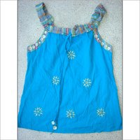 Embroidered Top With Sequence