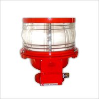 Medium Intensity White flashing Obstruction Warning Light