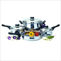 7 pc Stainless Steel cookware Set