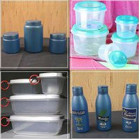 Household Plastic Containers