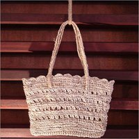 Scalloped Hand Bag