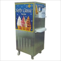 Double Flavor Softy Ice-Cream Machine