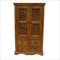 Handcrafted Wooden Cupboard
