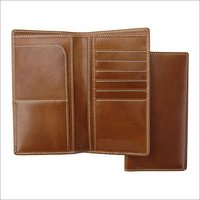 Genuine Leather Traveler Wallet
