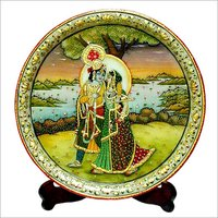 Decorative Marble Round Plates