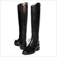 Back Zipper Long Boot