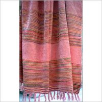 Chenille Yarn Dyed Stripe Throws