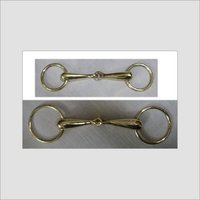 Solid Brass Hollow Mouth Loose Ring Snaffle Bits