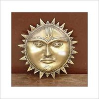 Surya Face Metal Handicraft