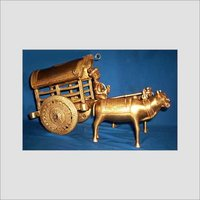 Brass Traditional Metal Rath Statue