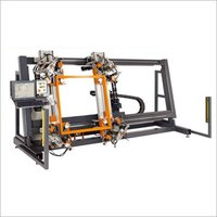Four-Head Corner Crimping Machine