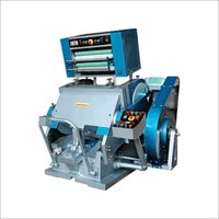 Platen Die Cutting Machine With Hot Foil Attachment