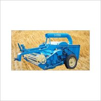Straw Combine Harvester