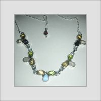 Sterling Silver Gemstone Necklaces