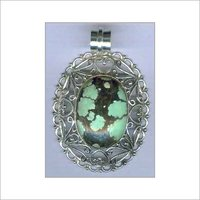 Sterling Silver Gemstone Pendant