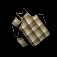 Cotton Apron & Gloves