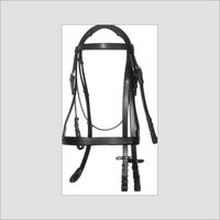Bridle White Cow Softy Padded