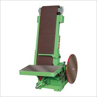Abrasive Belt & Disc Sander Machine