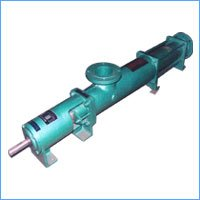 Single Screw Positive Displacement Slurry Pump