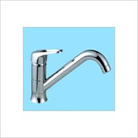 Vertical kitchen faucet