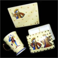 Ceramic Card Box Set