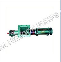 Helicon Single Screw Open Mouth Pump