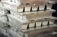 Lime Grade Pure Tin Ingots With Minimum 99.85% Purity