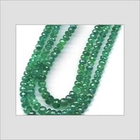 Emerald Faceted Roundel AA Colour