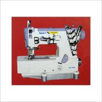High Speed Feed Off The Arm Double Chain Stitch Machine