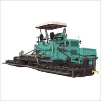 Electronic Sensor Paver Finisher
