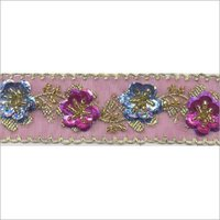 Beaded Jacquard Ribbon