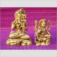 Brass Artifacts Statue