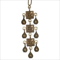 Marvelous Brass Three Steps Bell Hanging