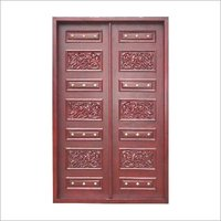 Pearl Bead Wooden Door