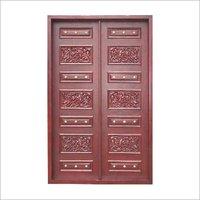 Pearl Bead Wooden Door