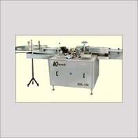 AUTOMATIC HIGH SPEED LABELLING MACHINE