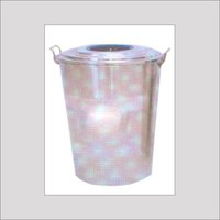 Stainless Steel Blue Ring Dustbin