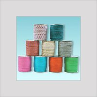 NARROW POLISHED BRAIDED COTTON CORDS