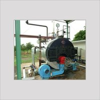 THREE PASS OIL/GAS FIRED FULLY AUTOMATIC SMOKE TUBE STEAM BOILER